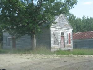 B.F. Davis, a mystery building
