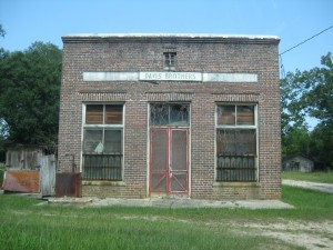 Davis Brothers. What could this have been off Highway 41? How old is it?