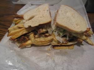Rajin' Cajun Sandwich