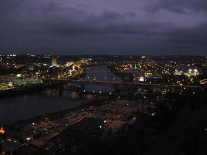 Pittsburgh from Mount Washington, another view