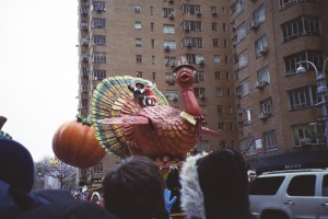 Happy Thanksgiving from the Macy's Turkey