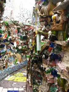 Enter the Magic Gardens.