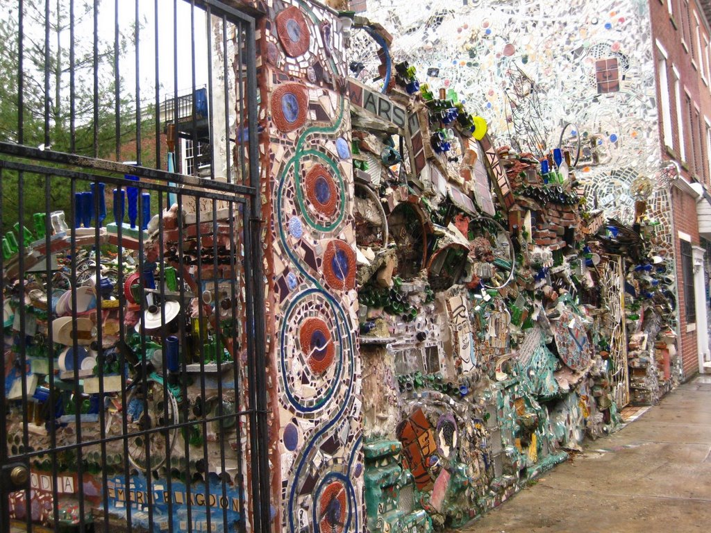 Philadelphia S South Street Magic Garden Preservation In