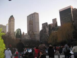 View from Wollman Rink in the daylight