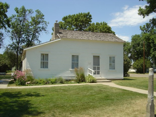 The Surveyor's House in Dakota Territory.