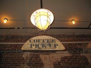 Brick walls and coffee