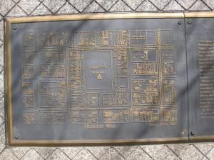 Linn Park map, close up