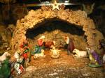 Nativity scene inside Bethlehem