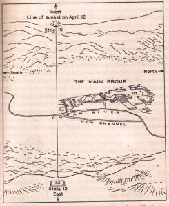 Morley's map of Stela 10-12