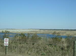 The PCS phosphate mine. Courtesy of Brad Hatch.