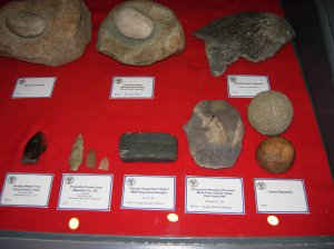 Native American artifacts. Courtesy of Brad Hatch.