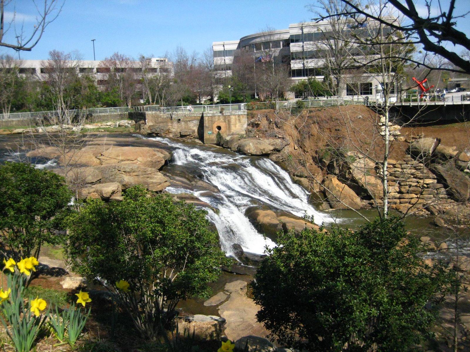 Falls Park Greenville Sc Restaurants