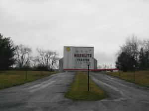 The Moonlite Drive-in Theater in Abingdon