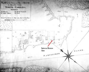 1769 Sauthier Map - Beaufort Community College