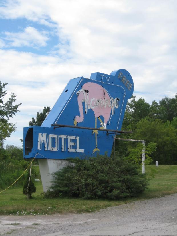 Flamingo Motel. US-23, Michigan.