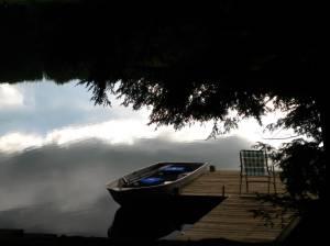 The lake house.