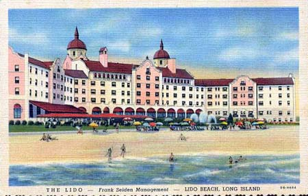 The Lido Hotel in 1942.