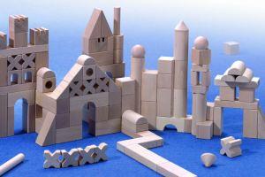 HABA Wooden Blocks Extra Large Starter Set