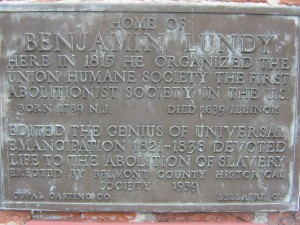 Plaque near the front door. Photo courtesy of Nicholas Bogosian.
