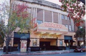 The Rialto Theater on East Cedar Street. Courtesy of Nicholas Bogosian.