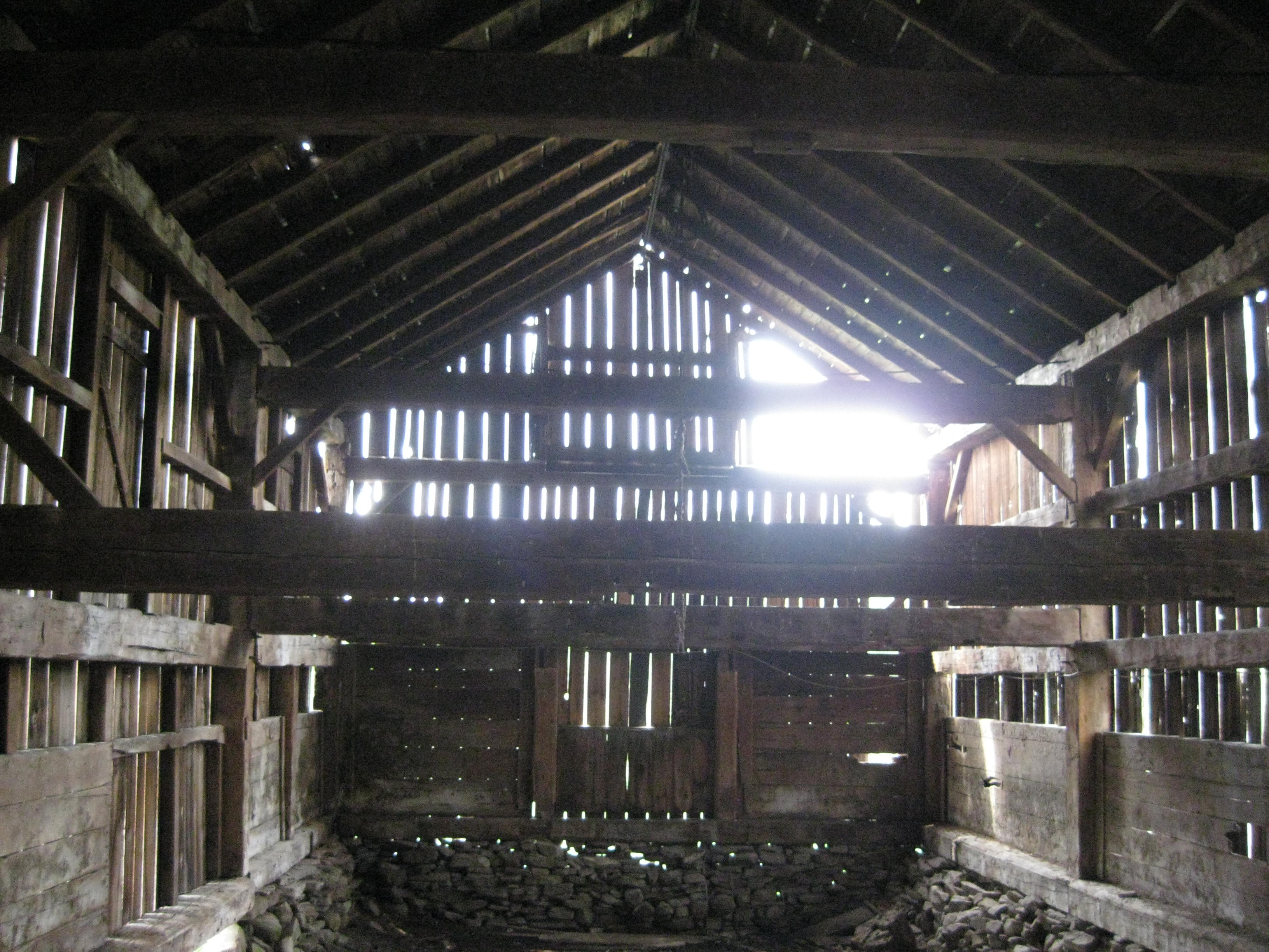 Inside The Cow Barn