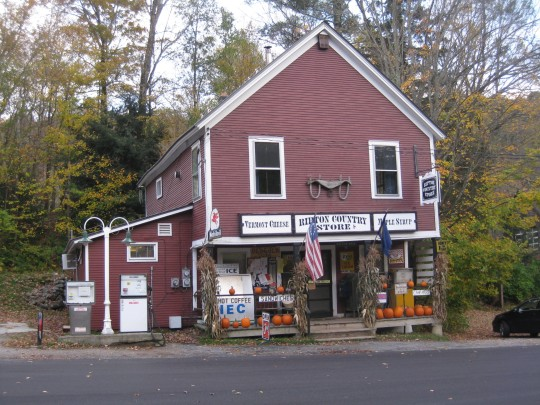 The Ripton Country Store located in Ripton, VT.