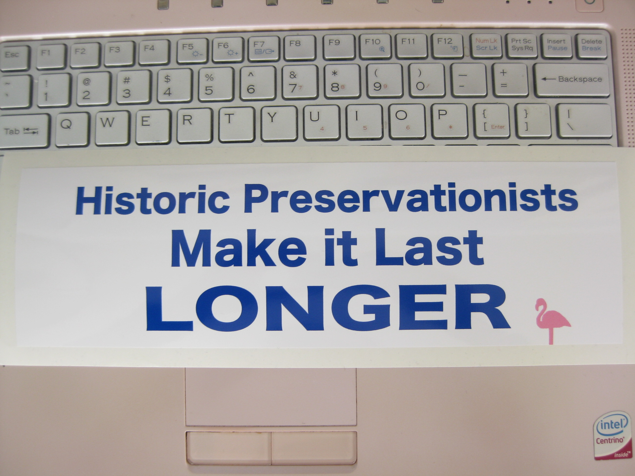 Make stickers for your car - Something Fun For Your Monday A Historic Preservation Bumper Sticker Just In Time For Road Trip Season You Know You Want One Or Rather Your Car Wants