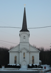 Saint Genevieve Church in Shoreham, VT.