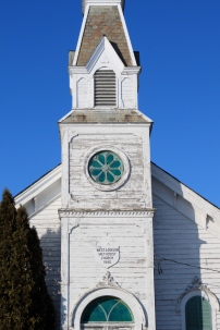 West Addison Methodist Church in West Addison, Vermont.