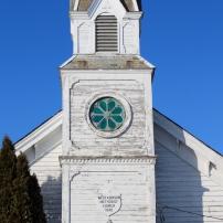 West Addison Methodist Church in West Addison, Vermont.