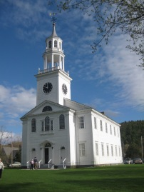 United Baptist Church in East Poultney, VT.