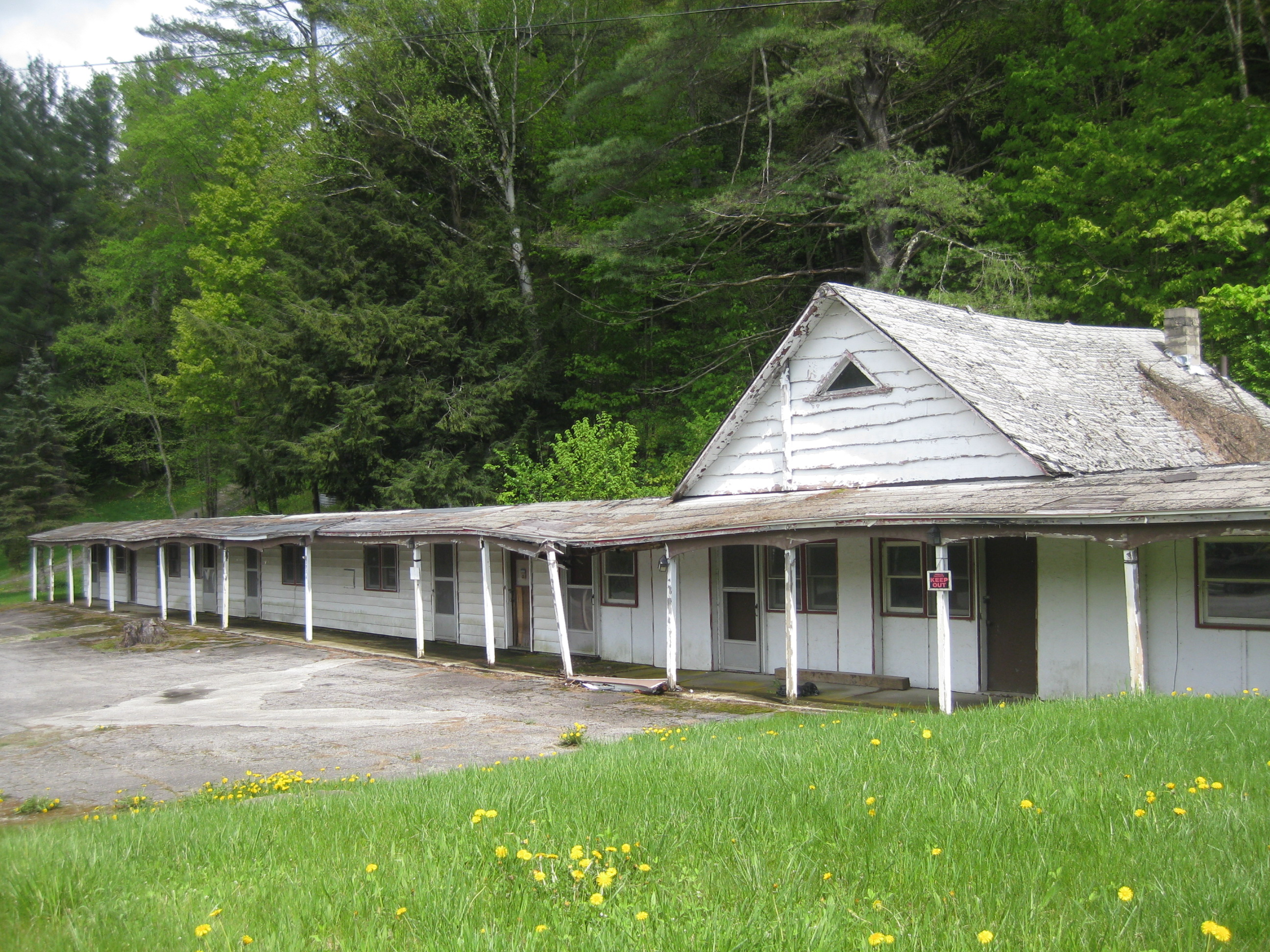 Abandoned Vermont Log Cabin Motel Preservation In Pink