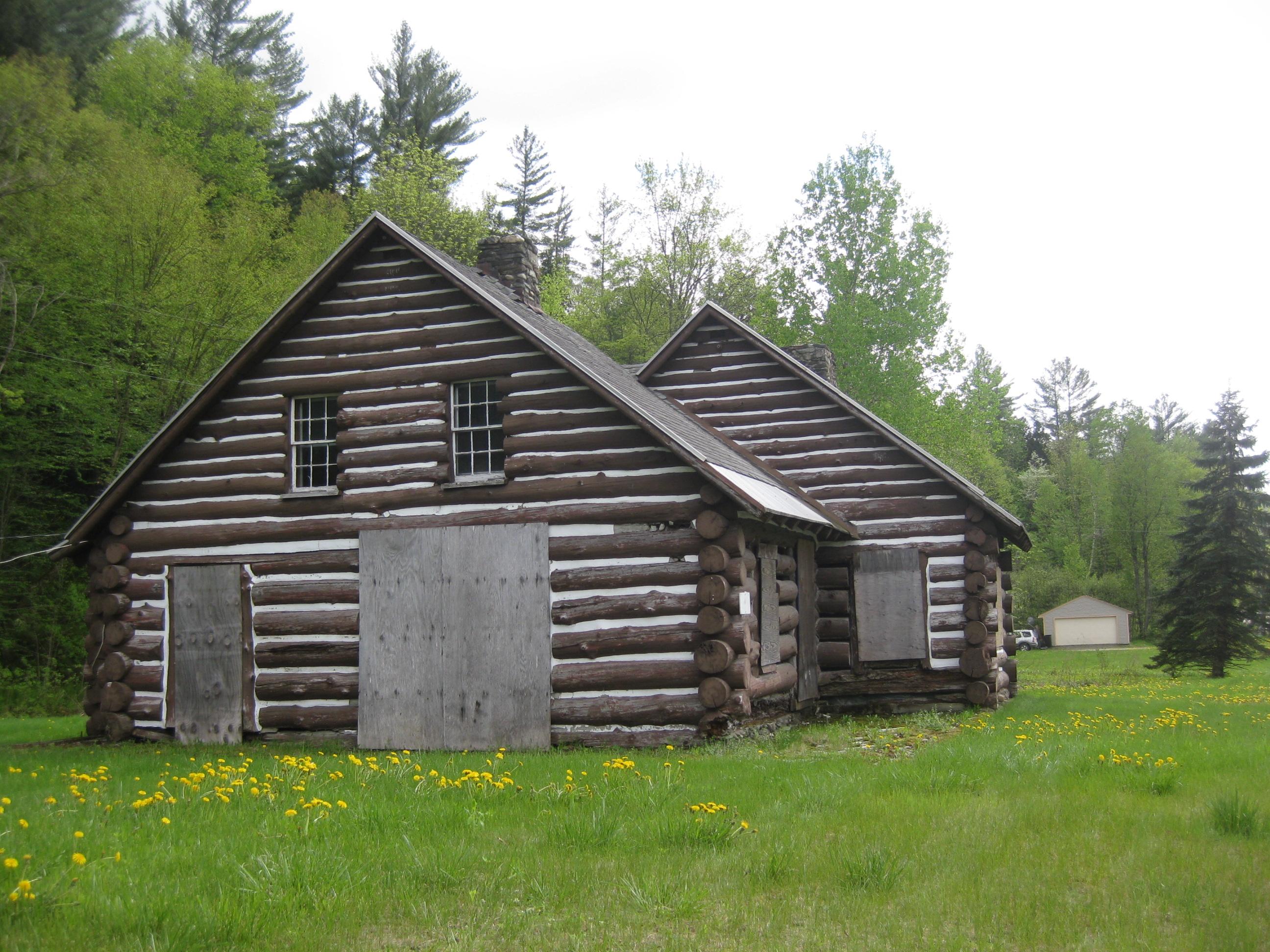 Abandoned Vermont Log Cabin Motel Preservation In Pink