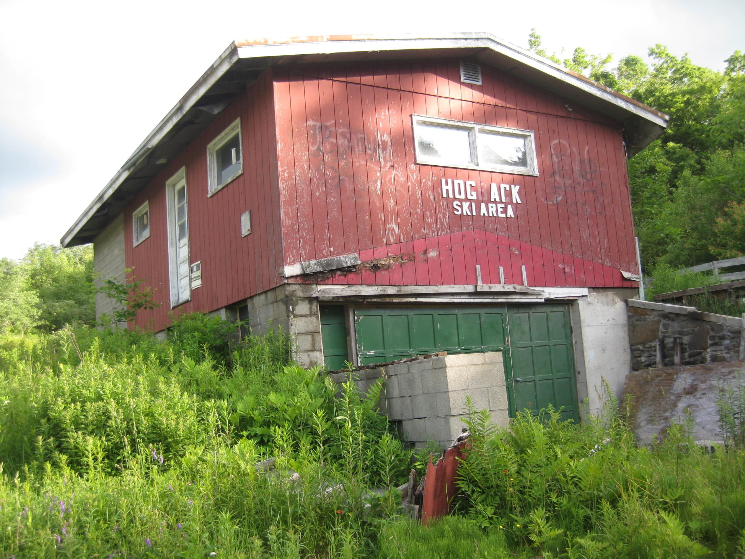 Abandoned Vermont Hogback Mountain Ski Area