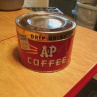 A&P Coffee Can
