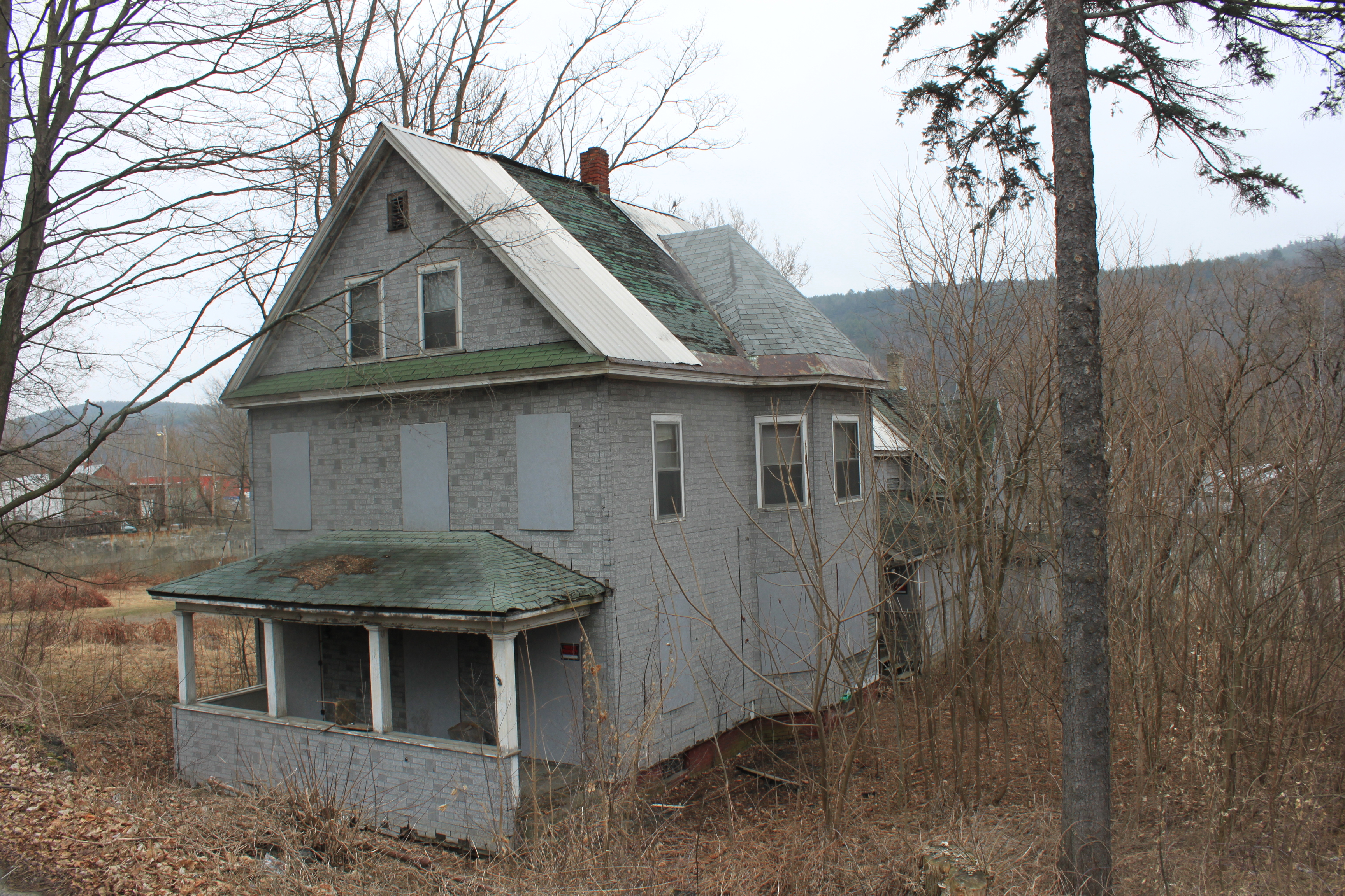 Abandoned Vermont Preservation In Pink