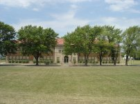 The Brown v. Board of Education National Historic Site in Topeka, Kansas. Photo taken June 2006.