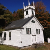 Abandoned Vermont: Simonsville Meeting House