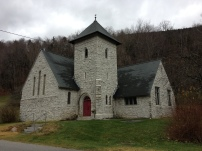 An Episcopal church (Church of Our Savior) in Killington, Vermont.