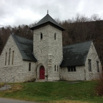 An Episcopal church (Church of Our Savior) in Killington, Vermont.