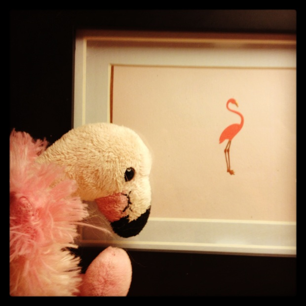Who doesn't need a flamingo?