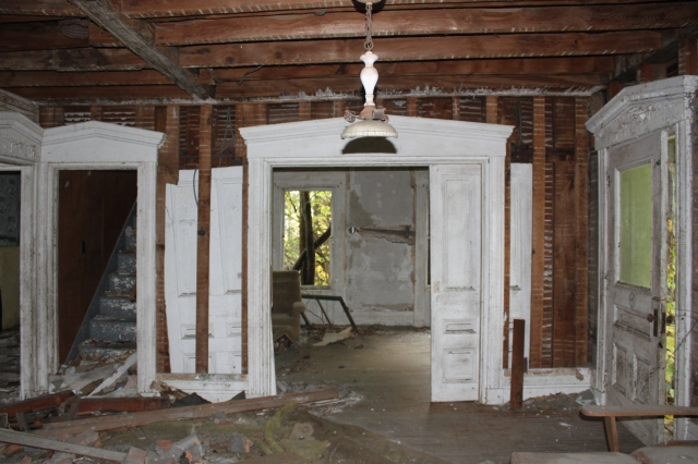 An abandoned house in rural Vermont.