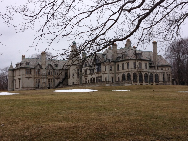 Carey Mansion in Newport, RI. (Also known as  Seaview Terrace.)