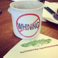 Gary Stanton's infamous coffee mug.