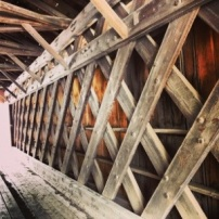 Longley Covered Bridge in Montgomery, VT