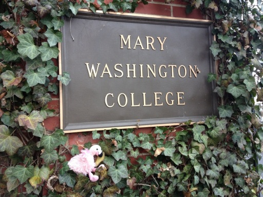 Mary Washington College, dear in my heart.
