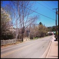 Springtime in Strafford, VT.