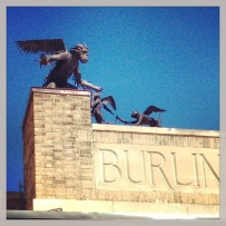 Burlington's flying monkeys.