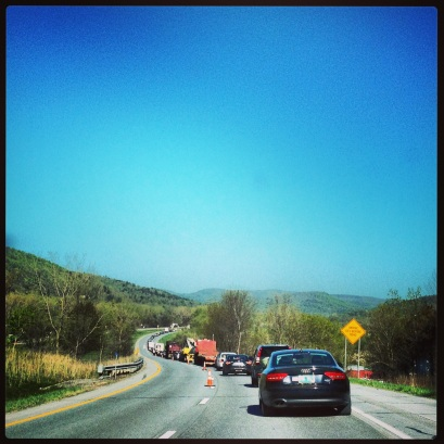 At least our traffic in VT is scenic.