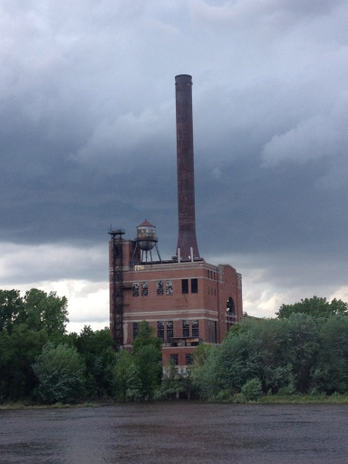 Abandoned Minnesota? The Island Power Plant.